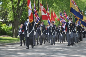 Transcona Branch #007 of the Royal Canadian Legion Parade 2014