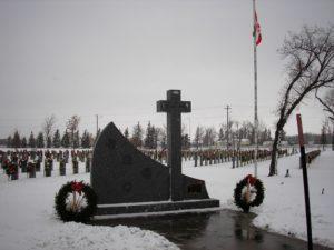 Cenotaph at Transcona Cemetery