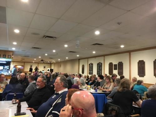 packed house for Chase the Ace March 10 , 2018