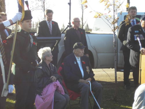 Veteran Tom Panting