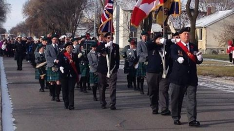 Transcona Legion Parade Nov 11th 2014