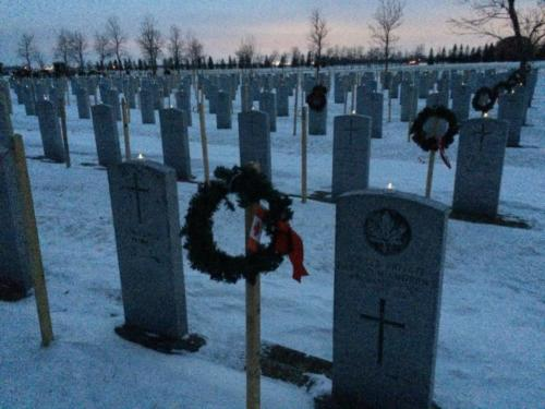 field of honour lites and wreaths 1