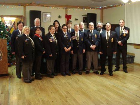 2015 Transcona Legion Executive Committee