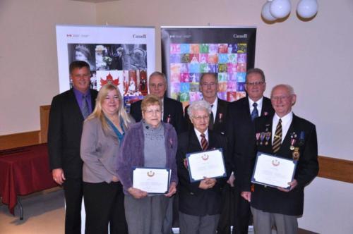 Legion Members Diamond Jubilee Medal Presentation