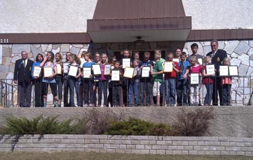 Immanuel Christean School Easay and Poster COntest 2012