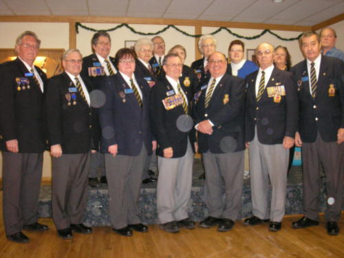 2012 Legion Executive at Levee Day