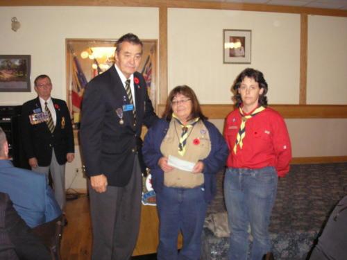 Presentation to Transcona First Scouts -  Nov 2011